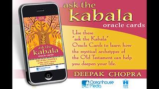 Ask The Kabala Oracle Cards - Deepak Chopra screenshot 1