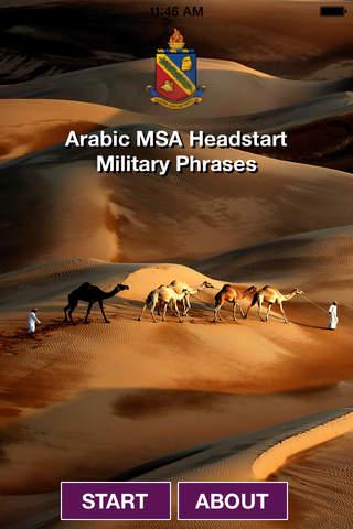 Headstart Arabic MSA Military Phrases - náhled