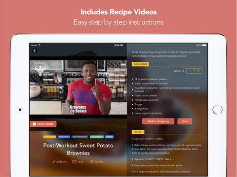 Fit Men Cook - Healthy Recipes screenshot 9