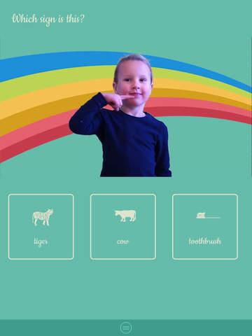 ASL Kids - Sign Language screenshot 7