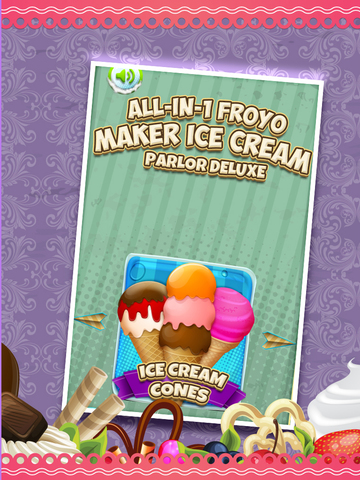 A All-in-1 Froyo Maker Ice Cream Parlor - Deluxe Yogurt Dessert Creator screenshot 7