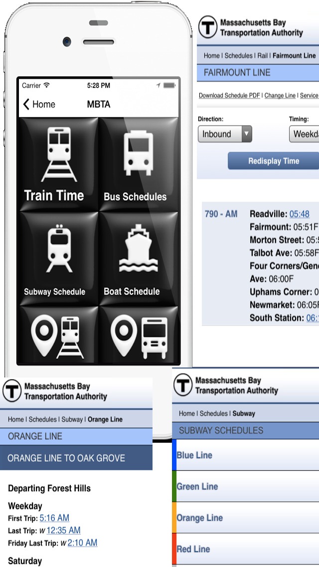 MBTA Buddy screenshot 2