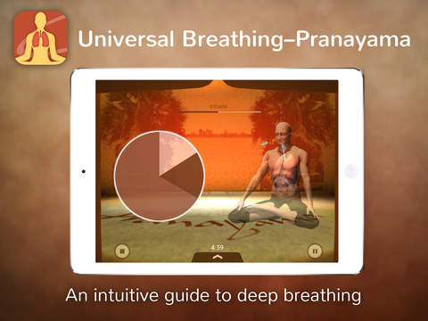 Universal Breathing - Pranayama screenshot #1