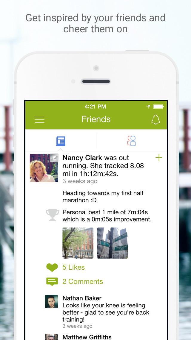 Endomondo screenshot 5