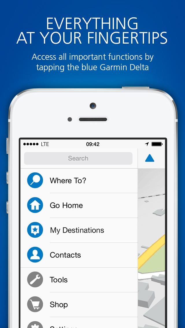 Garmin víago™ screenshot 1