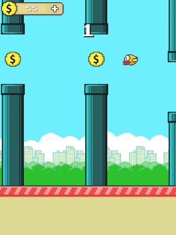 Flappy Hero Go West screenshot 6