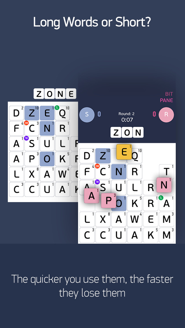 FastWord – A Fast, Smart & Strategic Word Game to Play with Friends screenshot 3