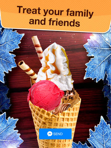 Sundae for Messenger - Make Yummy Desserts with Ice Cream Maker Game screenshot 9