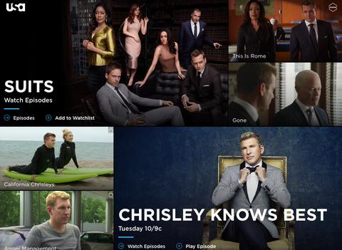 USA Network screenshot 5