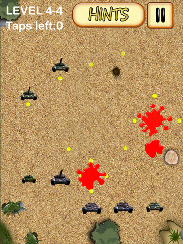 A Pro Full Version Strategy Puzzle Guns Tanks Cannons Solve It Game screenshot 7