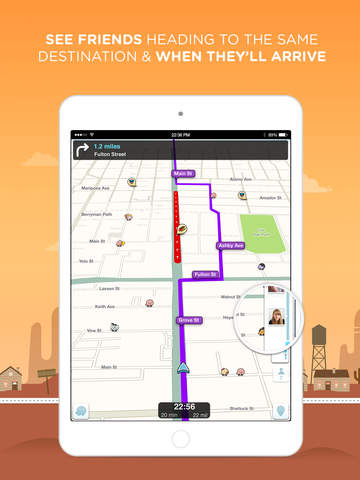 Waze Navigation & Live Traffic screenshot 10