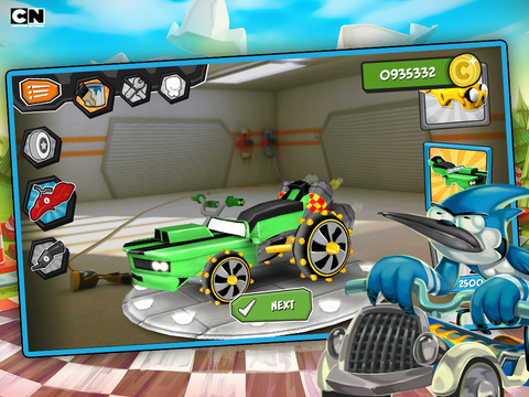 Formula Cartoon All-Stars – Crazy Cart Racing with Your Favorite Cartoon Network Characters screenshot 4