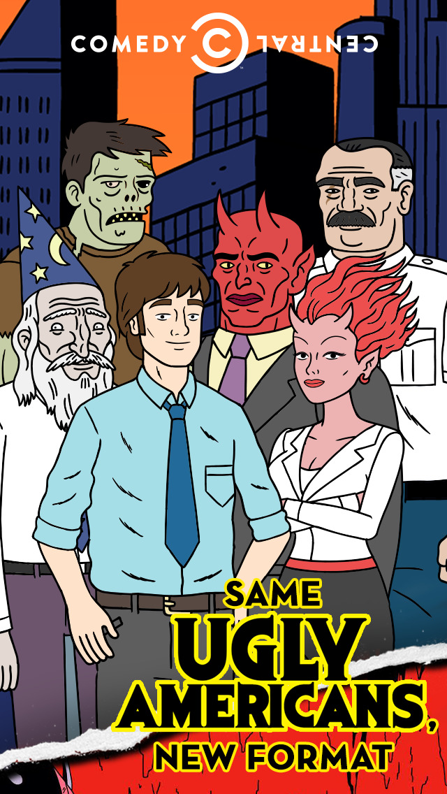 Ugly Americans, a Comedy Central and Episode production screenshot 5