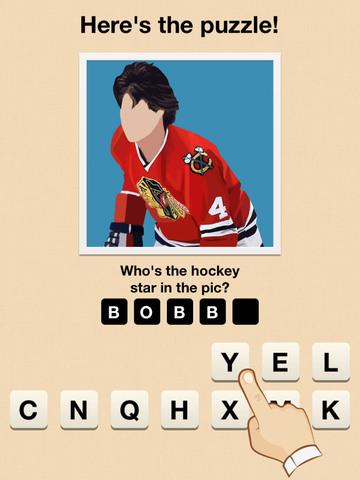Hi Guess the Hockey Star screenshot 6