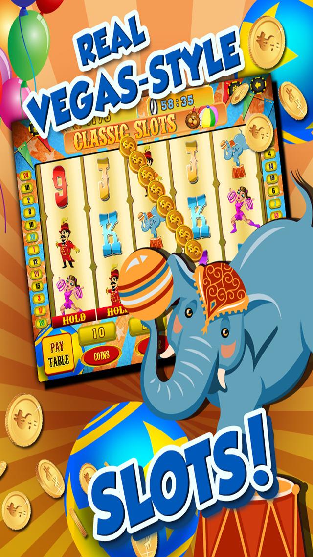 Ace Circus Vegas Slots - Lucky Big Win Classic Jackpot Slot Machine Casino Games HD screenshot 4