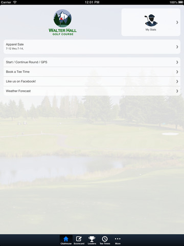 Walter Hall Golf Course screenshot 7