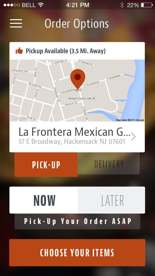La Frontera Mexican Grill screenshot 2