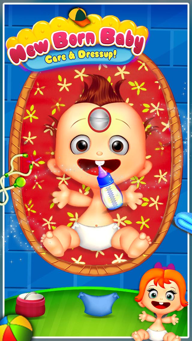 New Born Baby Care & Dressup! screenshot 2