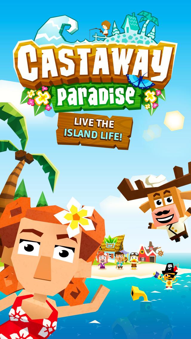 Castaway Paradise Town Builder screenshot 1