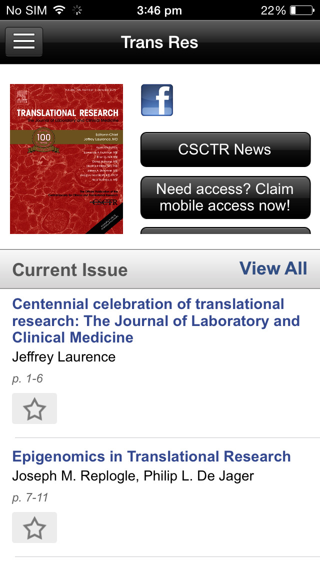 Translational Research screenshot 4