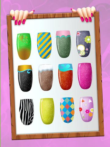 Adorable Princess Nail Salon - Free Makeover Game for Girls screenshot 8