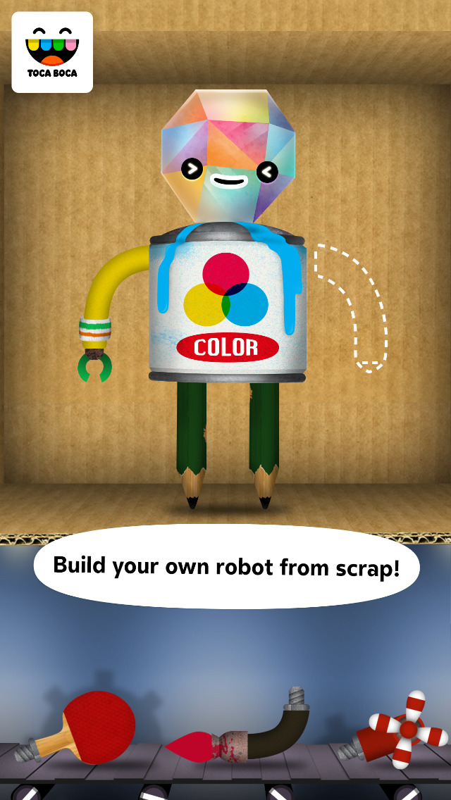 Toca Robot Lab screenshot 1