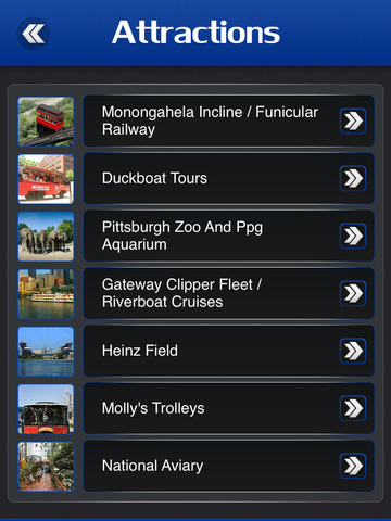 Pittsburgh Offline Travel Guide screenshot 8