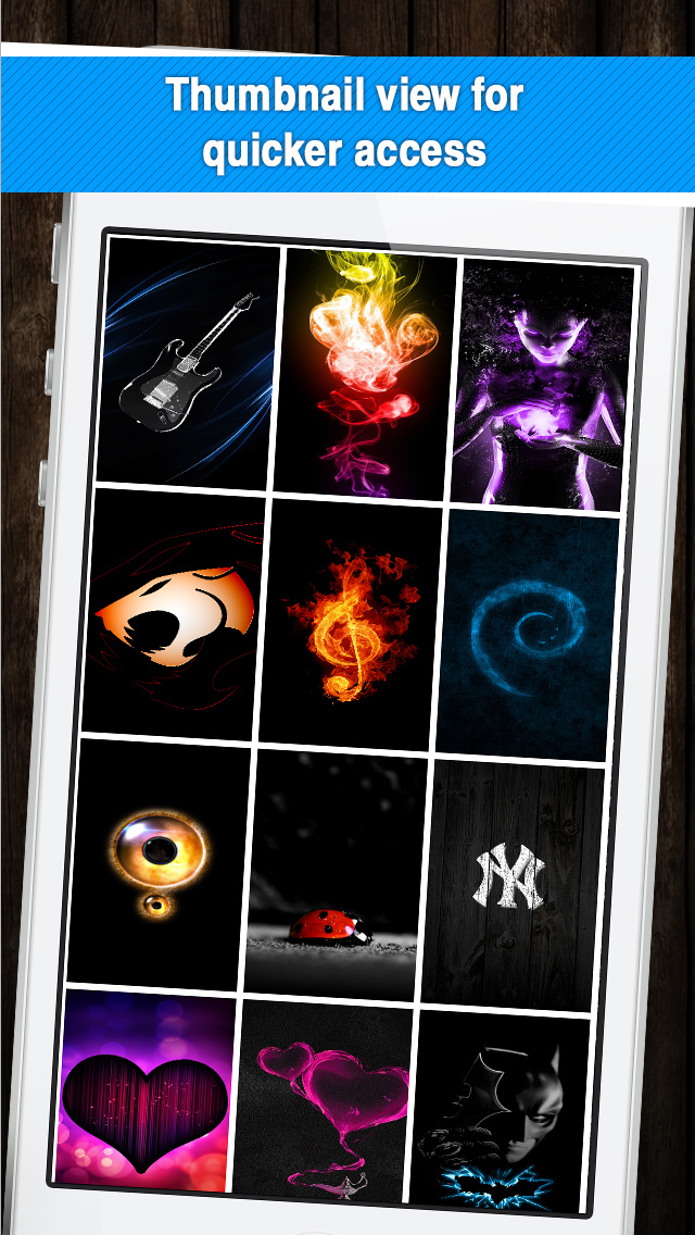 Black Magic HD Wallpapers for iOS 8 - Collection of Cool Backgrounds & Updated App Shelves screenshot 3