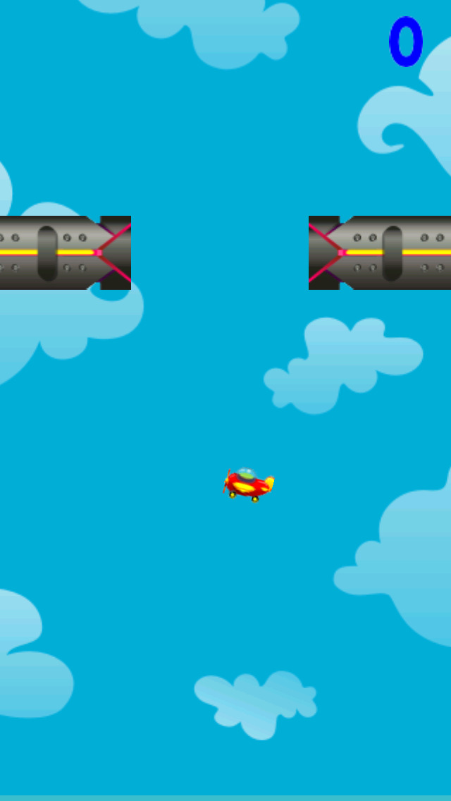Airplane Tap Rise screenshot 1