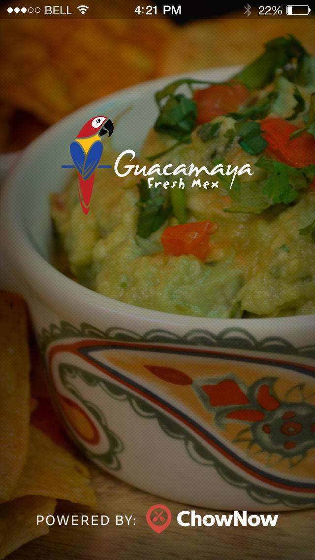 Guacamaya Fresh Mex screenshot 1