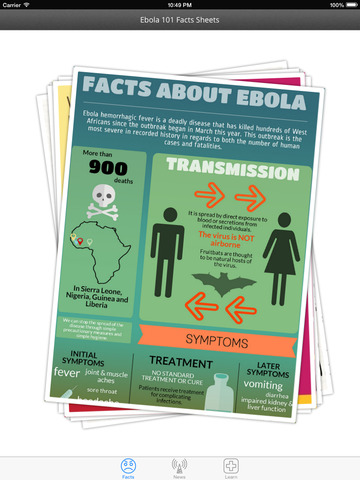 Ebola Truth and Guidance: Fact sheets with latest news,and protection lessons screenshot 6