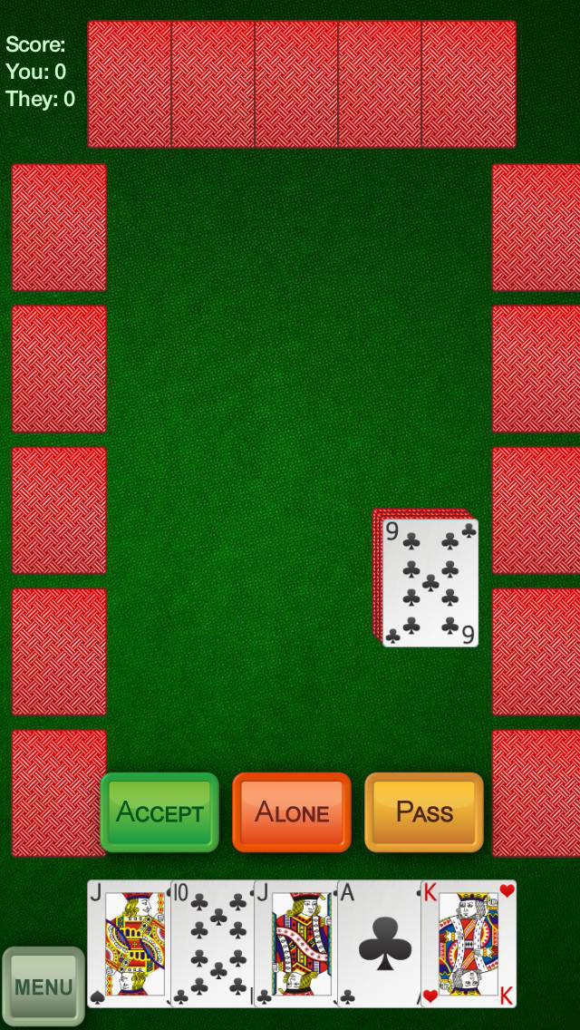 Euchre+ screenshot 1