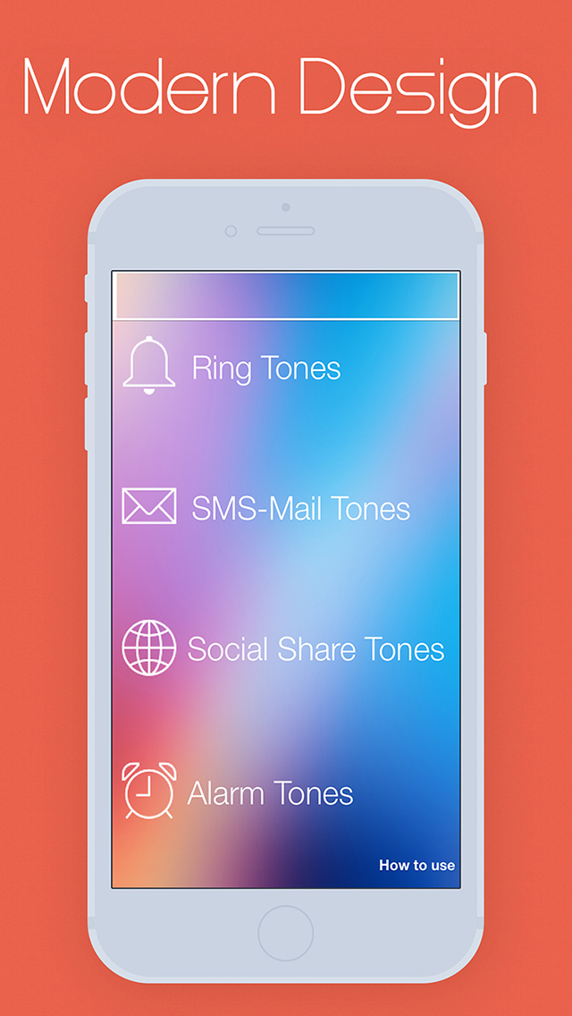 Ring Tones Plus for iOS 9 screenshot 1