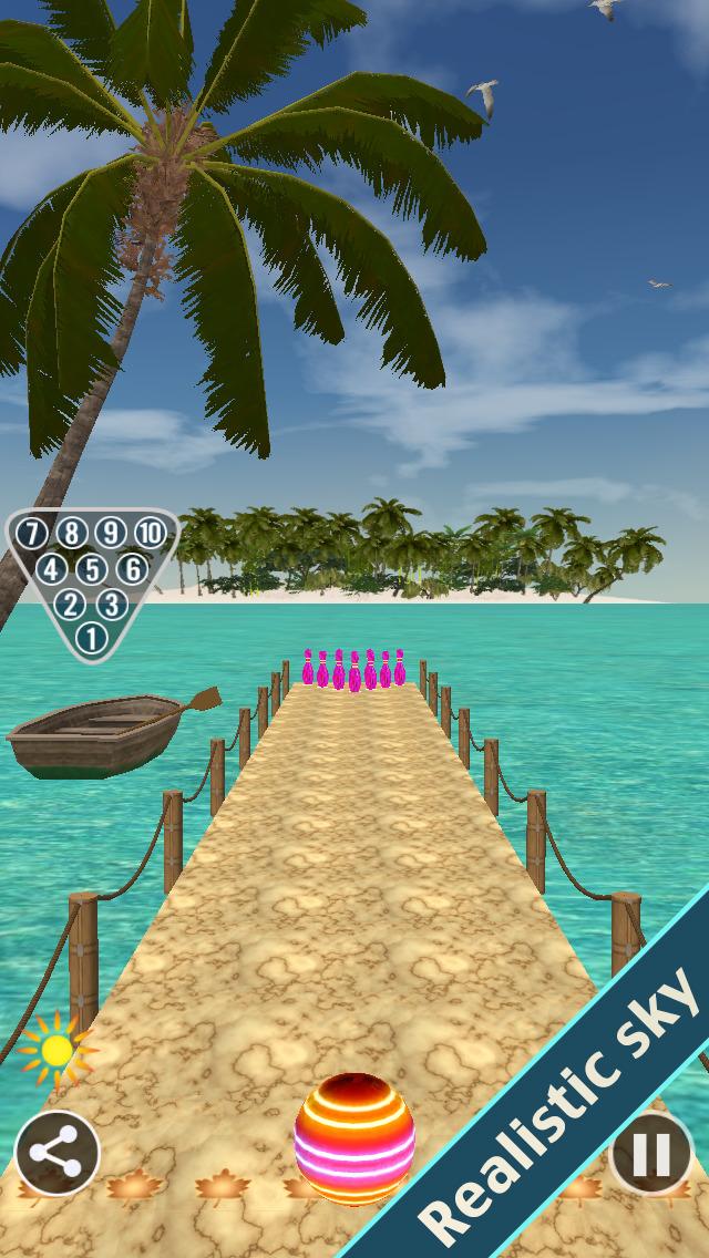 Bowling Paradise 2 Pro FREE screenshot 1