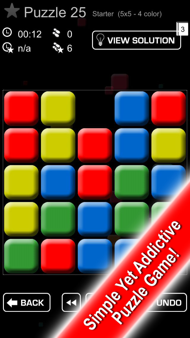 Block Buster Free - puzzle game screenshot 1