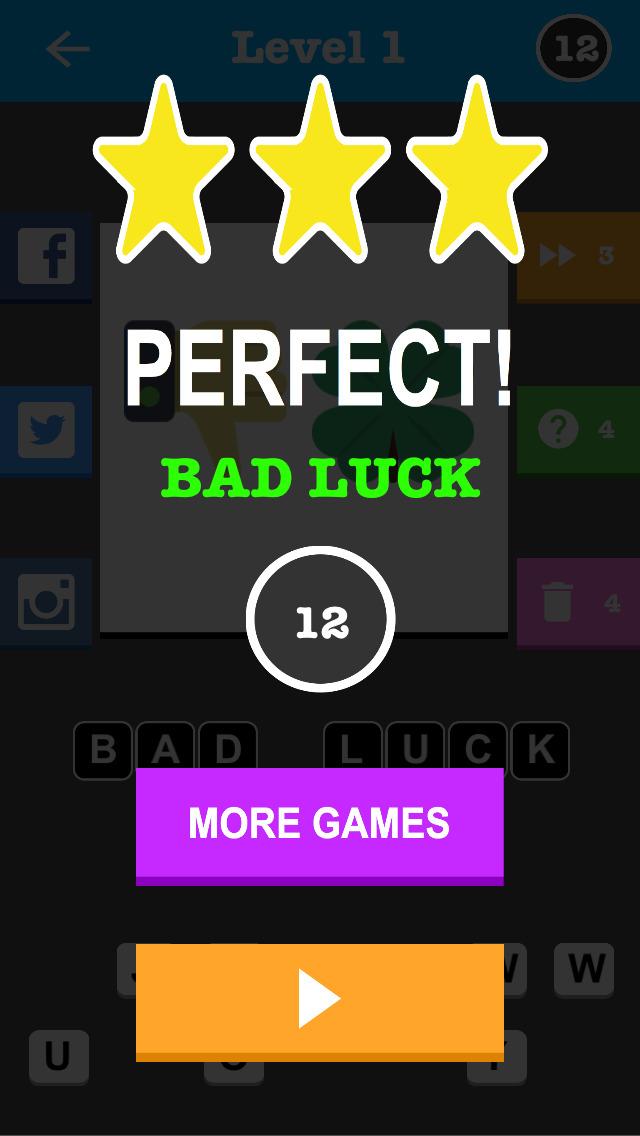An Emoji Trivia Game - With Instagram & Facebook Sharing screenshot 4