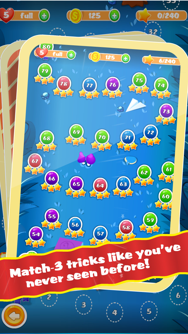 Magic Hat - Free Collapse Match-3 Puzzle Game screenshot 4