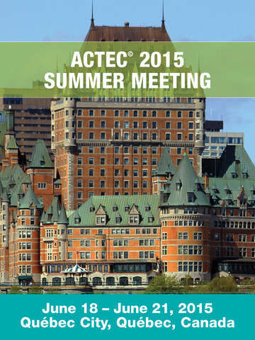 ACTEC 2015 Summer Meeting screenshot 4