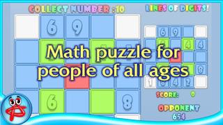 Lines of Digits: Fun Math Game screenshot 2