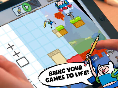 Adventure Time Game Wizard - Draw Your Own Adventure Time Games screenshot 9