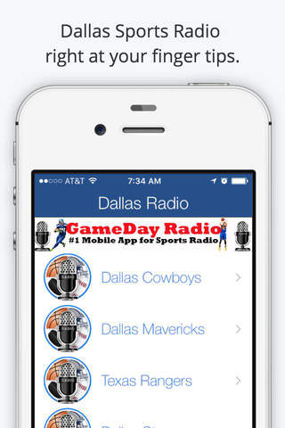 Dallas GameDay Live Radio – Cowboys and Mavericks  - náhled