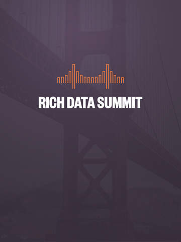 Rich Data Summit 2015 screenshot 3