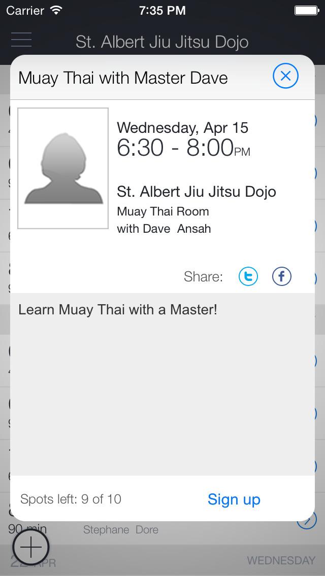 Doré Martial Arts Academy screenshot 2