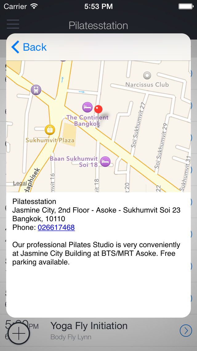 Pilates Station Bangkok screenshot 3