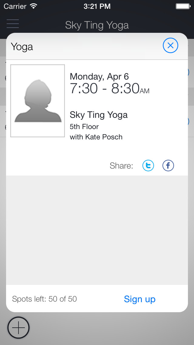 SKY TING YOGA screenshot 2