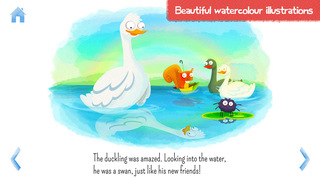 StoryToys Ugly Duckling - a deluxe interactive storybook screenshot 3