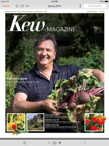 Kew Magazine screenshot 6