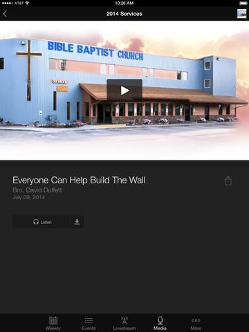 Bible Baptist in Fairbanks, AK screenshot 6