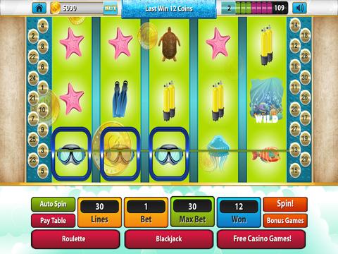 Mr Fish Craze Lucky Slots - Free Xtreme Las Vegas Casino with Bonus Games screenshot 10