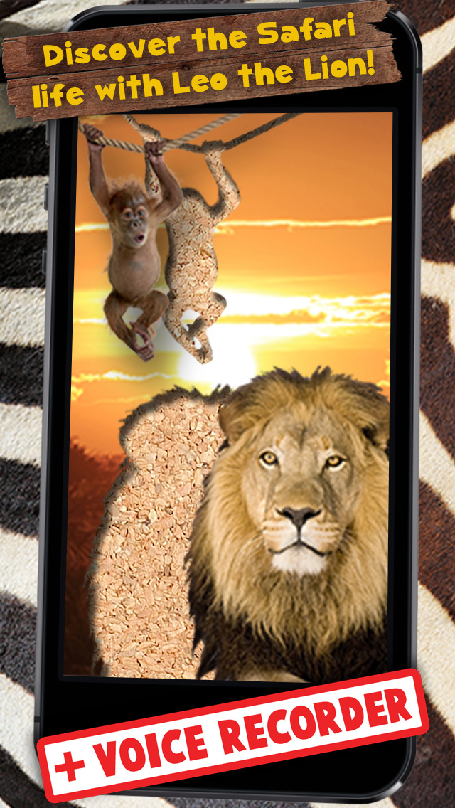 Wildlife Animals Jigsaw for young kids with simba screenshot 5